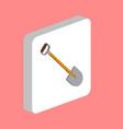 shovel computer symbol vector image