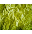 Texture of crumpled paper vector image vector image