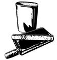 Cigar graphics vector image