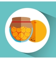 fruit jam design vector image