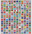 216 flags world vector image