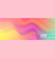 abstract smoothly pattern colorful transitions of vector image vector image
