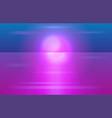 cyberpunk futuristic design background vector image