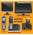 electronic Equipment vector image