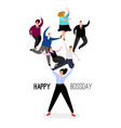 happy boss day vector image vector image