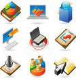 Icon concepts for business vector image