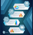 infographic business banners vector image vector image