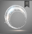light ring effect design vector image