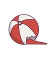 toy balloon icon vector image
