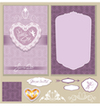 wed invitation 3 380 vector image vector image