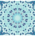 winter blue Seamless ornametal pattern vector image vector image