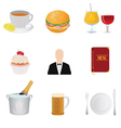 Restaurant and food vector image