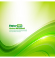 Abstract background Ligth green curve and wave
