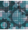 abstract blur background - with gears vector image vector image