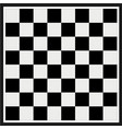 empty chess board vector image vector image
