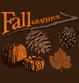 Fall Graphics vector image