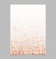 geometrical dot pattern page background - design vector image vector image