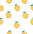 apple pattern resize vector image