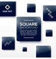 Design Squares Concept vector image