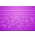 Bright purple concept design vector image vector image