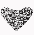 Heart People vector image vector image