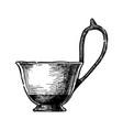 kyathos greek vase vector image