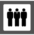 Management icon vector image vector image