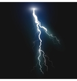 New realistic lightning symbol vector image