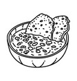 ribollita icon doodle hand drawn or outline icon vector image vector image