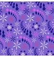 Seamless christmas pattern Colored snowflakes vector image vector image