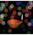 Diwali holidays vector image