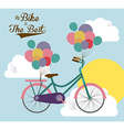 Bike lifestyle design vector image