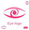Eye logo conception vector image vector image