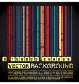 Grunge barcode background vector image vector image