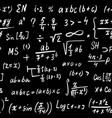 math formulas seamless pattern hand drawn vector image