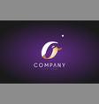 o alphabet letter gold golden logo icon design vector image vector image