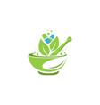 pharmacy medical logo vector image vector image