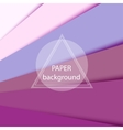 Abstract background with pink paper sheets vector image vector image