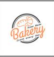 circle homemade bakery badge stamp
