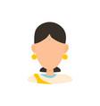 female user avatar profile picture icon vector image vector image
