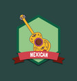 mexico culture design vector image