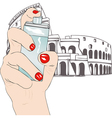 Perfume of Rome vector image vector image