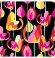 Seamless pattern with beautiful multi-colored vector image vector image