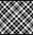 tartan black watch pixel plaid seamless pattern vector image