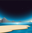 A beautiful scenery vector image vector image