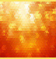abstract orange colorful background vector image vector image