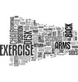 an exercise plan to lose weight text word cloud vector image vector image