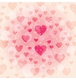 Beautiful background for Valentine s day vector image vector image