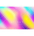 bright multicolor background blurred spots vector image