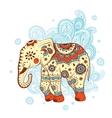 Ethnic elephant vector image vector image
